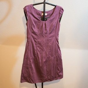 Anthropologie Lined Cotton Pocketed Dress Size 2